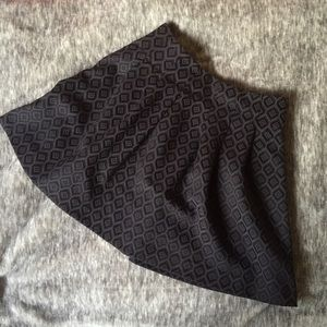 Banana Republic Geo Jacquard Pleated Mini Skirt 💕